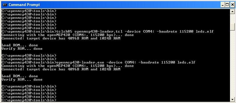 openmsp430-loader Windows