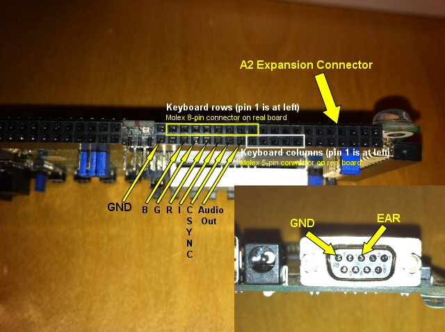 Spartan 3 Starter Board connections
