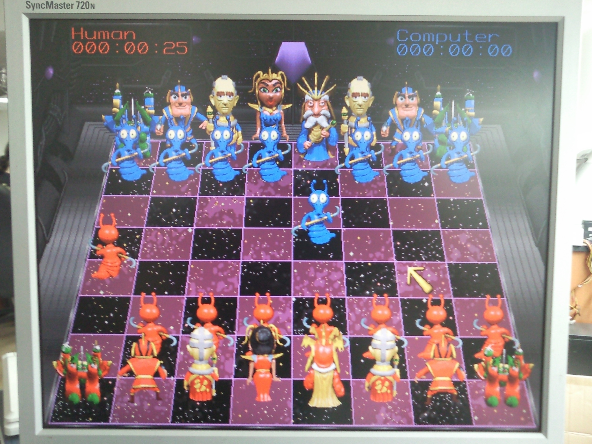BattleChess4000 in 640x480x256